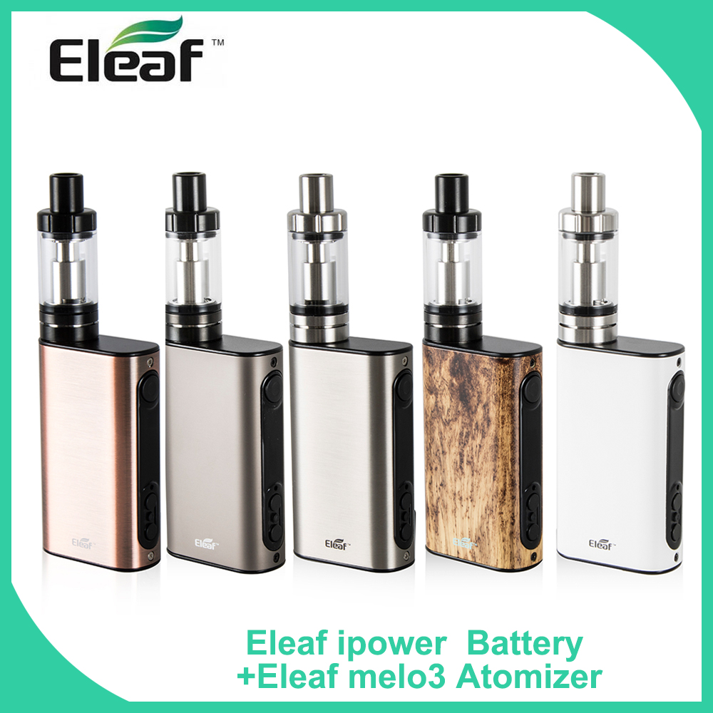 100 Original Eleaf iStick Power 80W TC Mod 5000mAh Built in Battery With Melo 3 Atomizer
