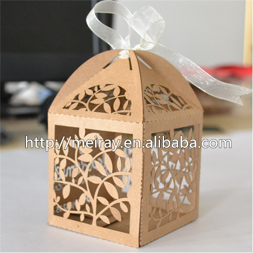 50pcs,Laser cut leaves indian wedding return gift for guests, return gifts for indian wedding-in Gift Bags & Wrapping Supplies from Home & Garden on ...