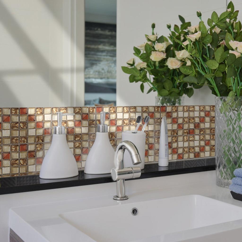US $2.16 25% OFF|20Pcs Self Adhesive Tile Floor Wall Decal Sticker DIY  Kitchen Bathroom Decor super smash bros ultimate bedroom decor wall  decor-in ...