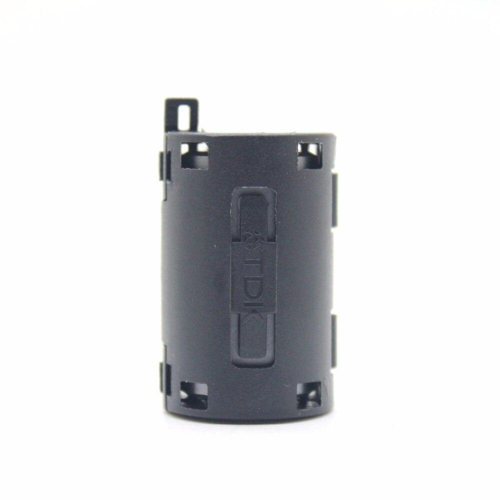 5pcs TDK black 11mm Cable Clamp Clip Noise Filters Ferrite Core Case