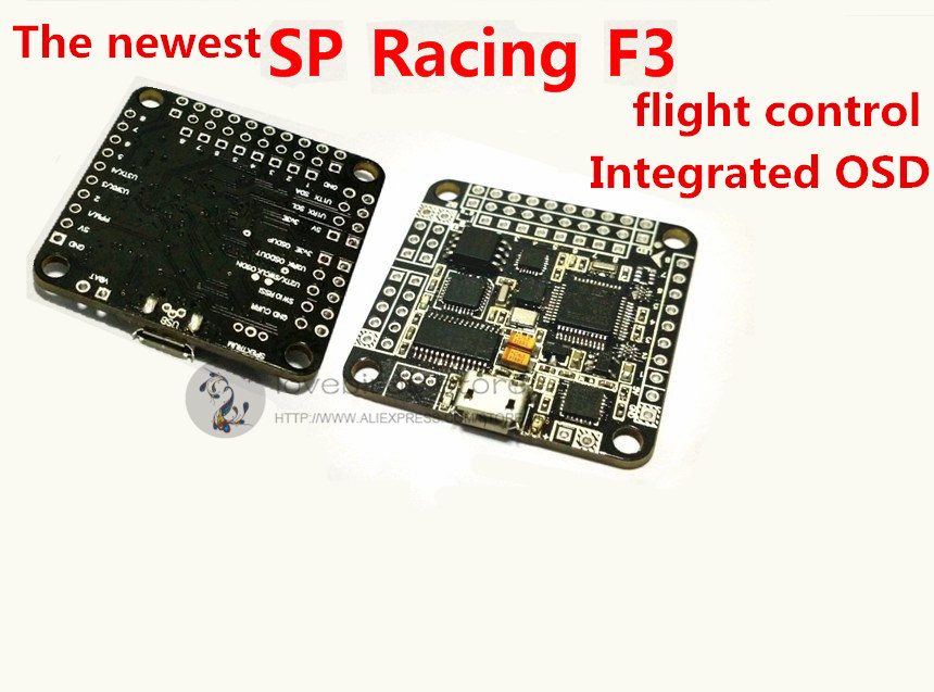 the newest upgraded version SP Racing F3 flight control built-in OSD for DIY mini racing drones QAV250/ZMR250/QAV280 quadcopter micro minimosd minim osd mini osd w kv team mod for racing f3 naze32 flight controller