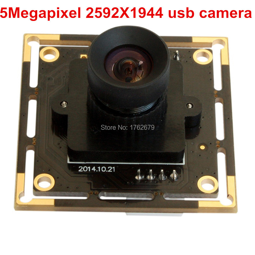 16mm lens 5MP 2592x1944 CMOS Aptina MI5100 Endoscope Free driver industrial usb camera /web camera usb 5mp for machine vision