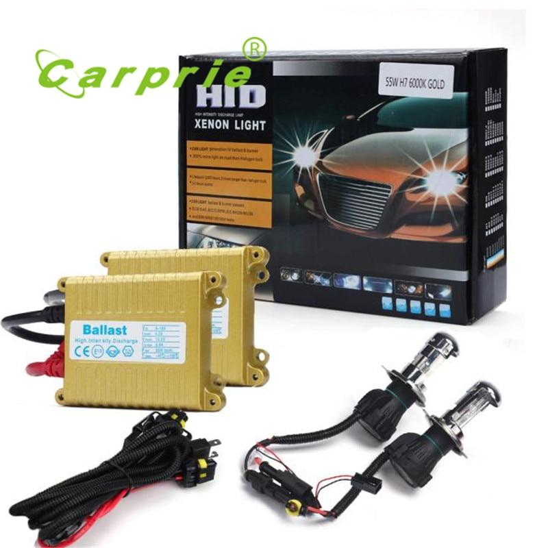 AUTO 2016 12V 55W H13 5000K Xenon HID Bulb + Ballast Conversion Set Kit Headlight car-styling car light car styling feb 27 система освещения byd s6 hid ccfl 35 55w 12v