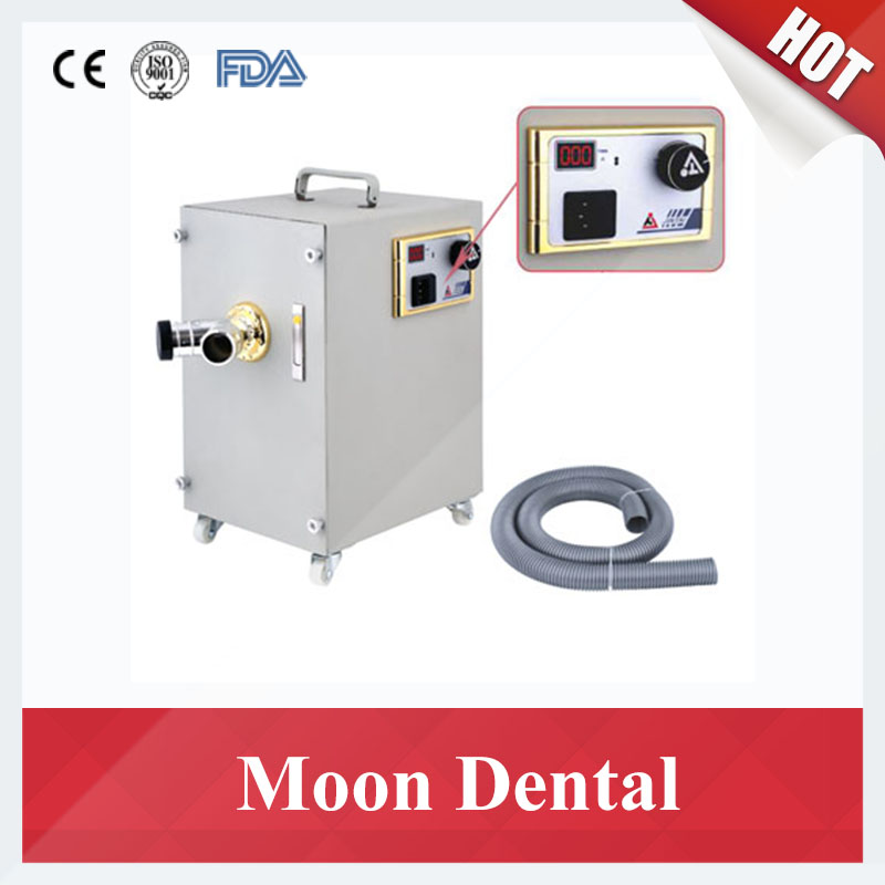 JT-26B digital control Dust Collector Double wheel motor strong power Dental Vacuum Dust Extractor for Dental Laboratory