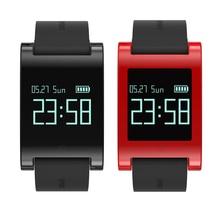 DM68 высокое качество Водонепроницаемый Смарт-часы монитор фитнес трекер сердечного ритма браслет Спорт Шагомер Смарт-часы