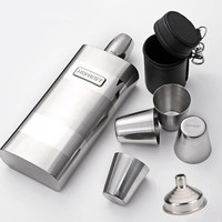 12OZ QL Quality Hip Flask Portable Liquor Whisky Flask 12 Ounce Big Stainless Steel Flask Canteen Wine Bottle Gadgets for Man