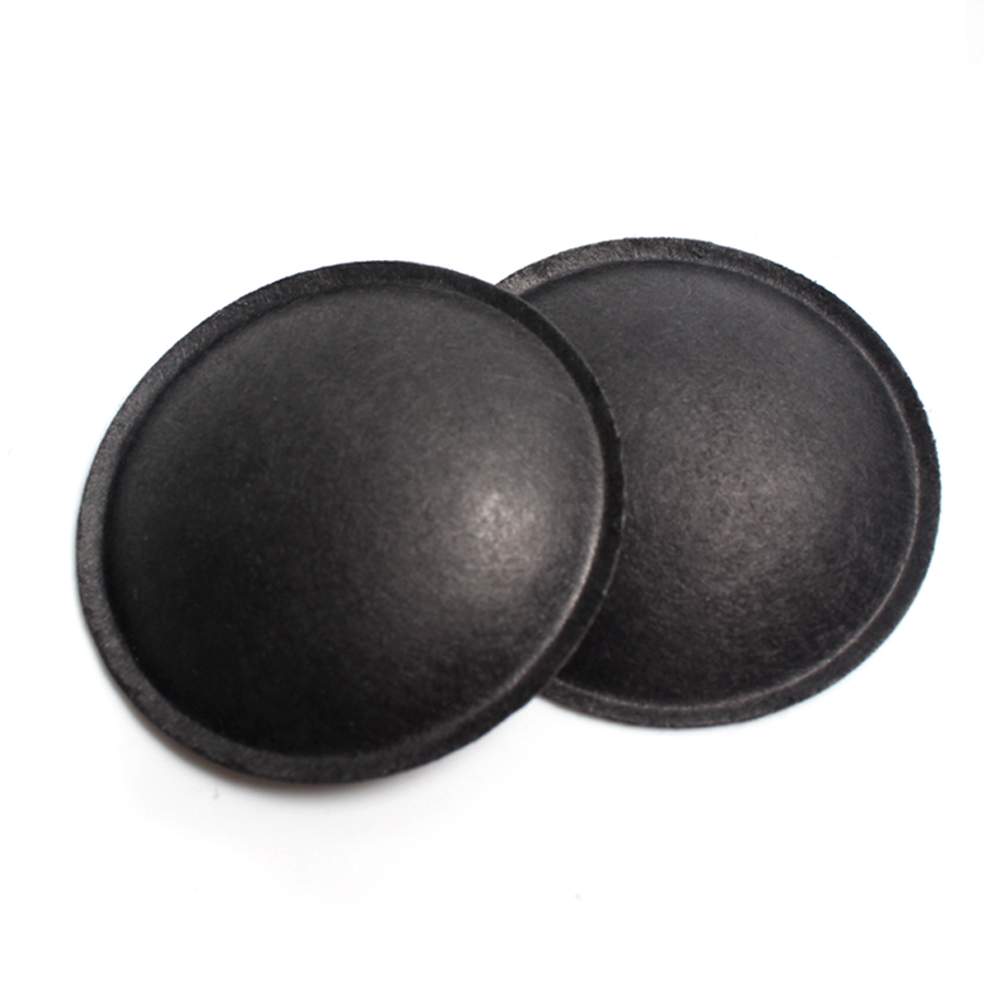 2Pcs/Lot 40MM 65MM Black Woofer Dust Cap Speaker Audio Paper Dust Cover Speaker Repair Accessories DIY Home Theater