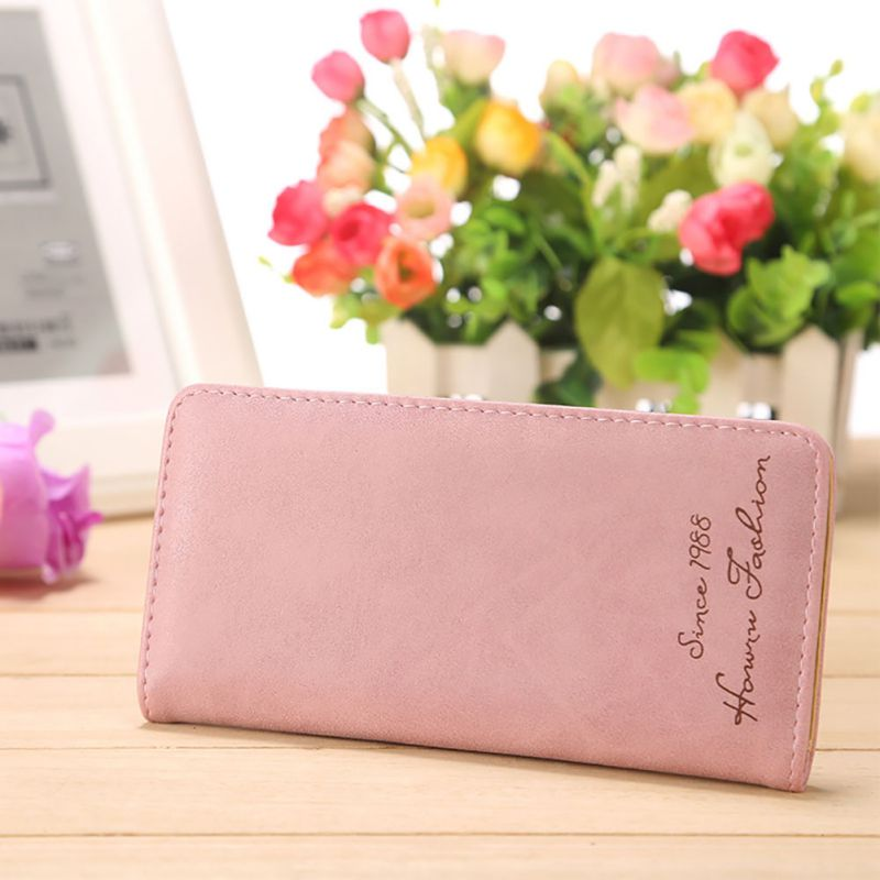 Women Wallets Fashion Leather Hasp Female Long Wallets Coin Purse Cards Holder Clutch Women Money Bag Pakistan