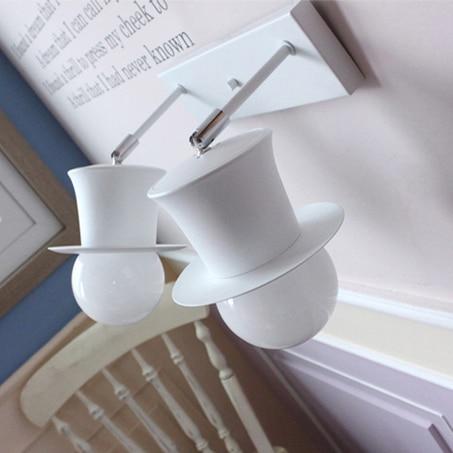 ФОТО Magic hat wall lamp  bedroom lamp living room lights restaurant lamp jf0127