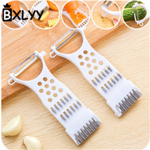 BXLYY plastic kitchen accessories 2pc multi-function vegetable grater grinding garlic 2019 gadget peeler.7z