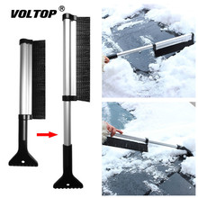 Extendable Snow Brush Car Cleaning Tool Wash Accessories Auto Ice Scraper Shovel Removal Snow retractable handle snow shovel snow brush car cleaning winter car auto ice scraper car suv truck rotatable brush car acessorie