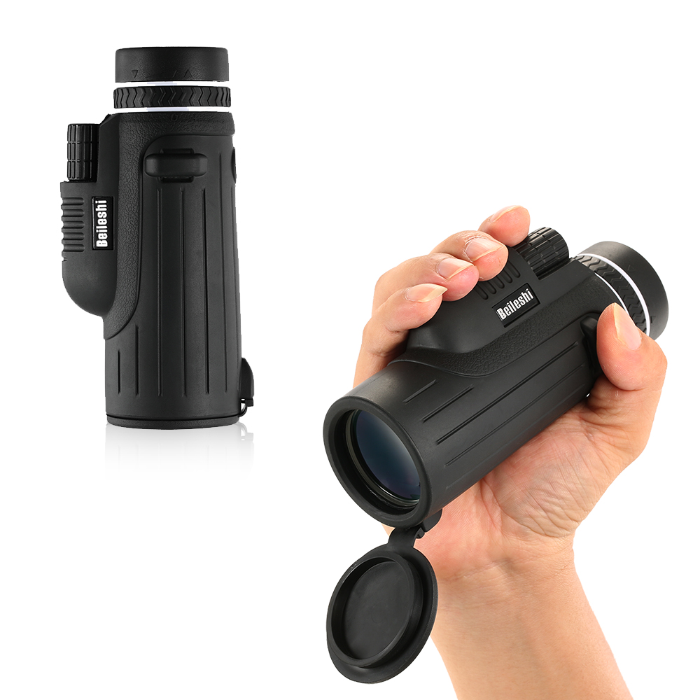 Compact 10X42 HD Monocular Mini Telescope Optics Hunting Sports Camping Telescope Scope for Outdoor Bird Watching Wildlife
