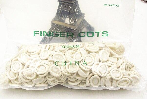 dedos grossos reparação relógio luvas de látex-wp0099