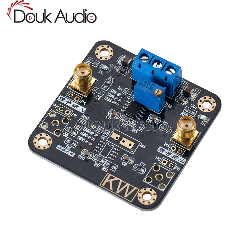 US $8 92 15% OFF|OP07 Module Low Deviation Op amp Voltage Amplifier Signal  Processing within 1MHz-in Circuits from Consumer Electronics on