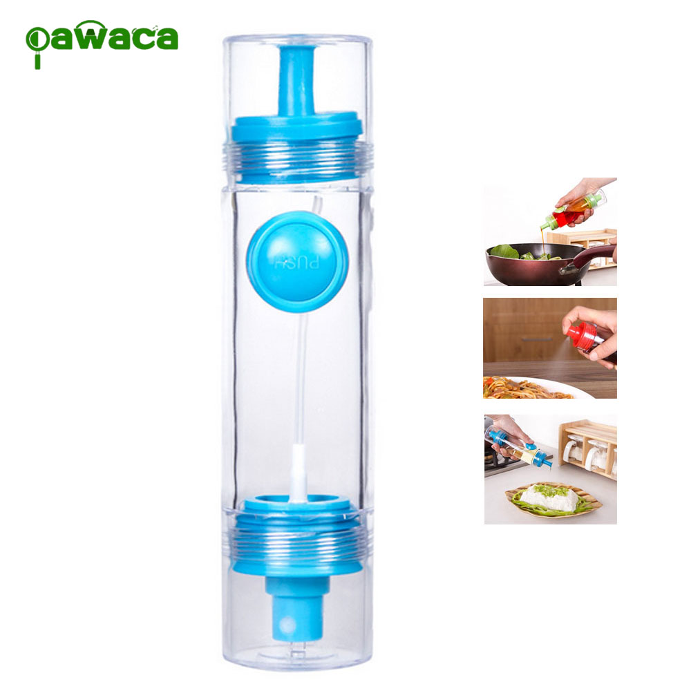 Olive Spray Fine Pump Oil Sprayer Bottle Soy Sauce Vinegar
