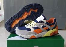 PUMA Original Duplex Classic Unisex Trinomic Blaze men's shoes Sneakers Badminton Shoes size40-44(China)