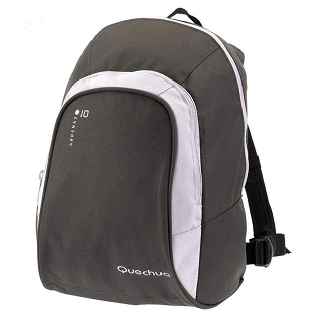 QUECHUA Nylon Fabric Waterproof Sports Bag 10L Men Women Children Outdoor Backpack Travel Gym