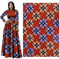 Hot african special suit dress fabric new cotton active printed fabric high quality batik craft 100% cotton super comfortable