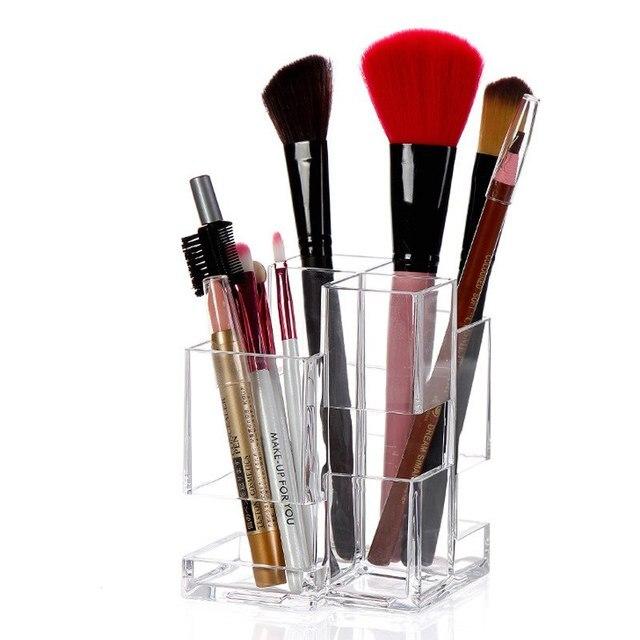 Urijk Creative Transparent Acrylic Makeup Tools Organizer Storage Box And Bins Desktop Cosmetic Storage Container Home  sc 1 st  AliExpress.com & Urijk Creative Transparent Acrylic Makeup Tools Organizer Storage ...
