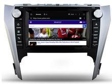2 gb ram 32 GB ROM octa core android 6.0 para Toyota Camry 2012 2013 2014 Reproductor de DVD Del Coche de RADIO GPS 3G principal de NAVEGACIÓN unidades de cinta grabadora