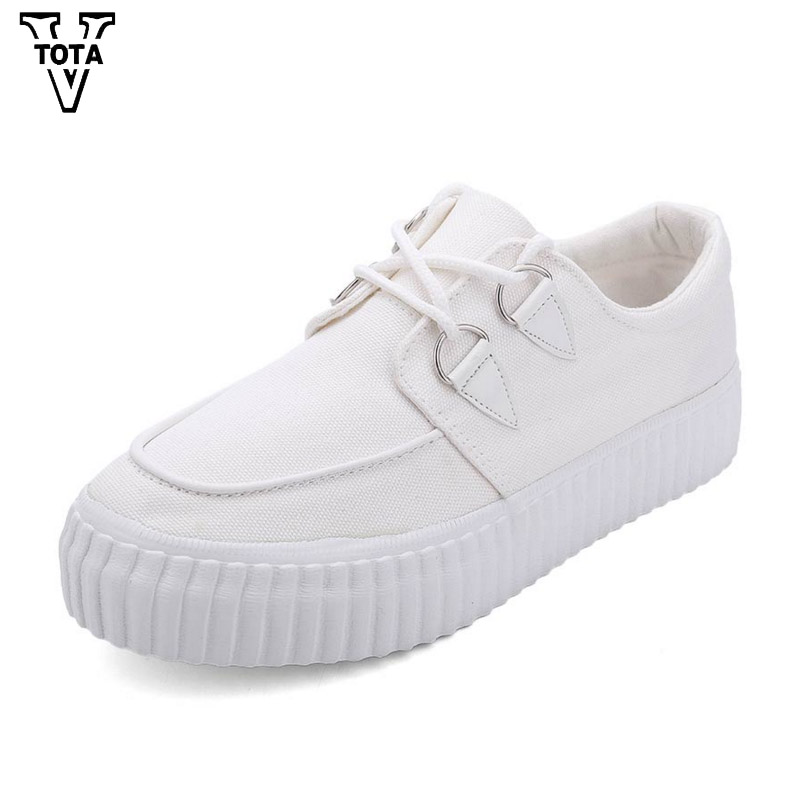 VTOTA Spring Autumn Flats Women Breathable Womens Loafer Shoes Women Platform Shoes Female Sneakers Zapatillas Mujer XLXY1