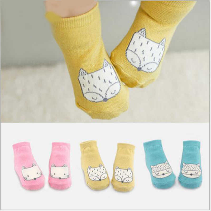 54a6e6a56 Detail Feedback Questions about lovely Cartoon baby Socks Print fox ...