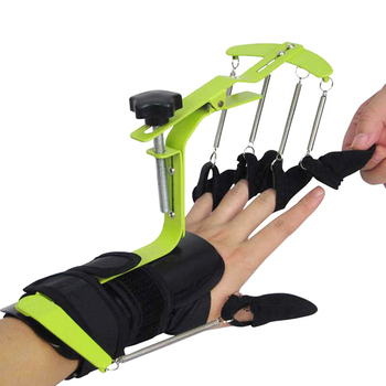 For Apoplexy Stroke Hemiplegia Patients' Tendon Repair Hand Training Dynamic Wrist Finger Orthosis Physiotherapy Rehabilitation