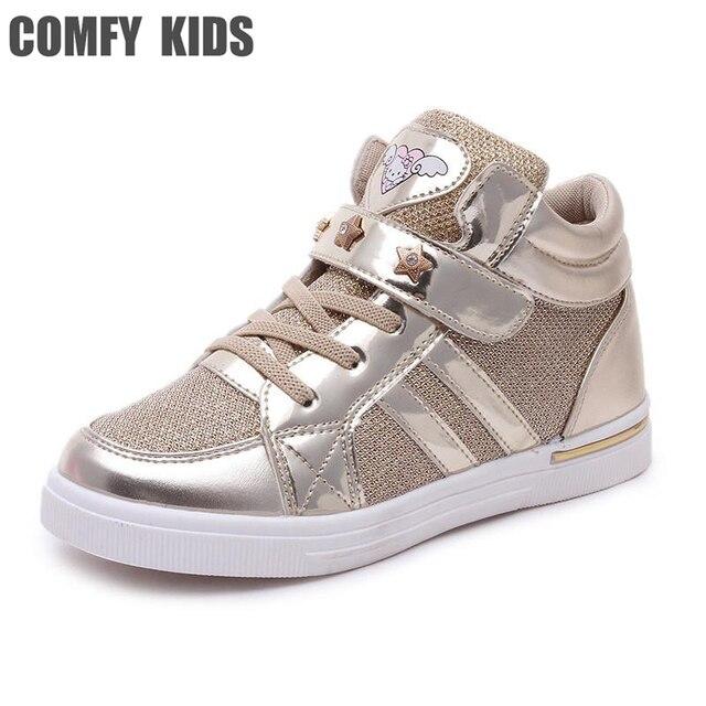 43c24668bb5 Fashion casual kind meisjes sneakers schoenen maat 27-36 comfy kids jongens  meisjes sport lente