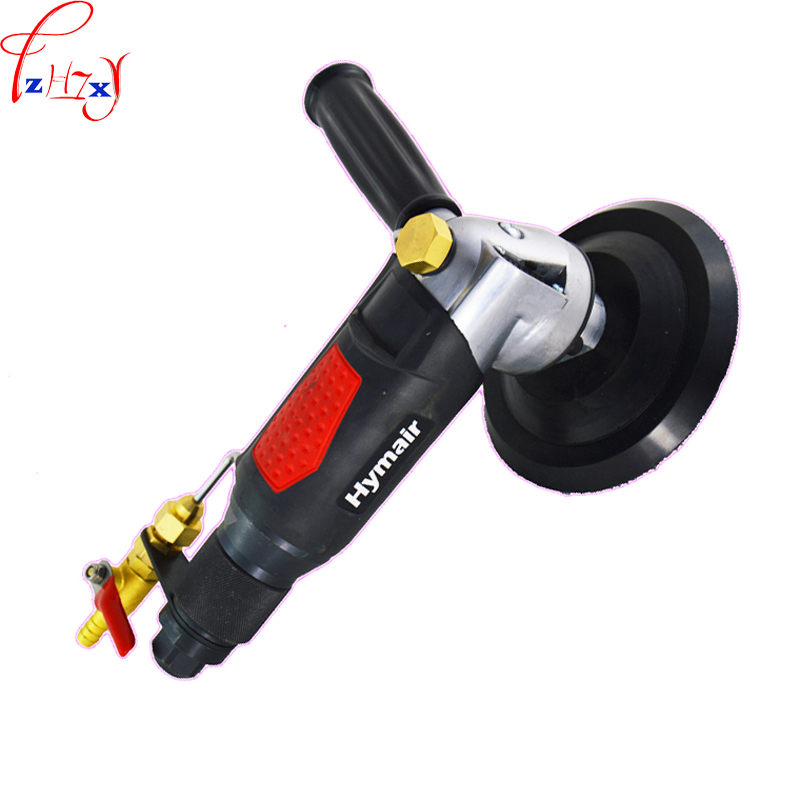 1pc Water injection pneumatic water mill machine 5 professional air wet sander polisher stone polishing machine