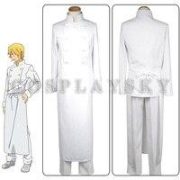 Nowy anime pracy!! Czerwca sato hiroomi soma biały chef uniform cosplay costume
