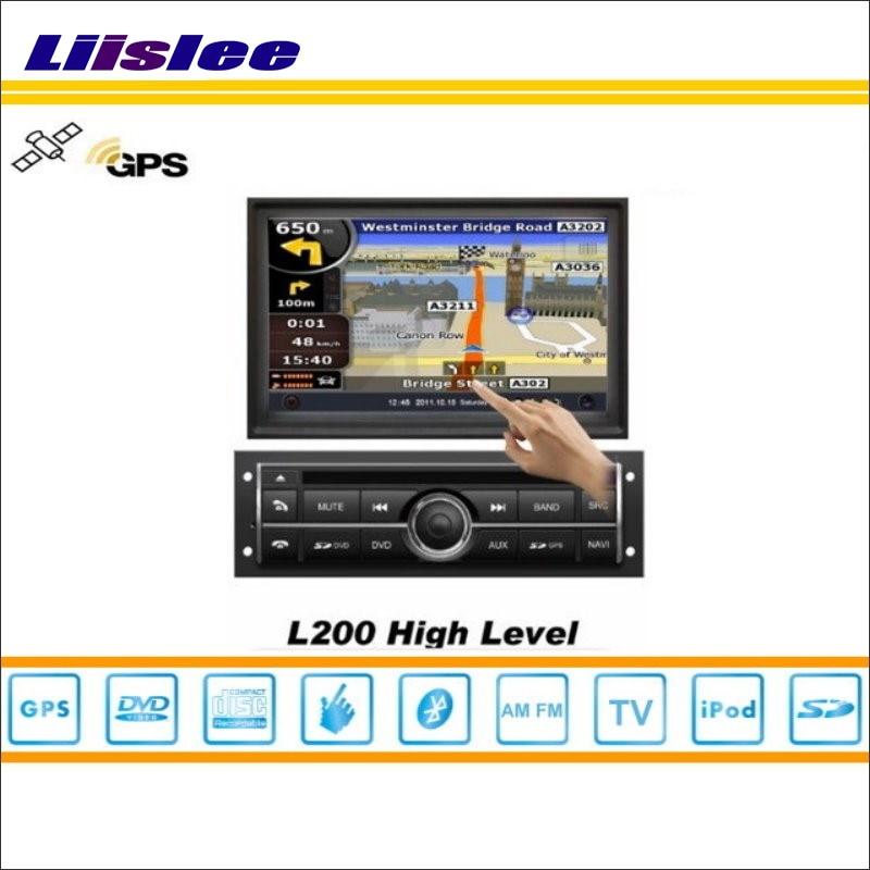 Liislee For Mitsubishi Pajero Sport 2008~2013 Car GPS Navigation System Radio TV DVD iPod BT USB AUX HD Screen Multimedia System