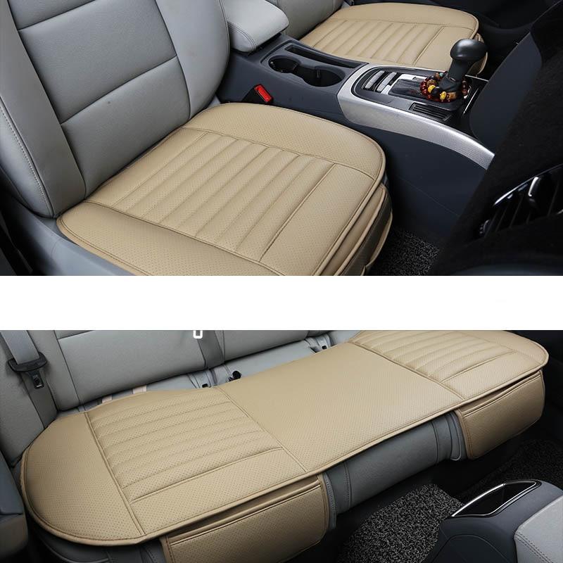 Couverture de siège auto en cuir synthétique polyuréthane pour mazda 3 opel astra j bmw e46 golf 4 peugeot 206 307 autocollants sur les voitures auto accessoire bâche de voiture