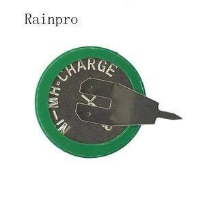 Image 2 - Rainpro 5 개/몫 Ni MH 배터리 80 mAh 2.4 V Ni MH 충전식 버튼 셀 배터리