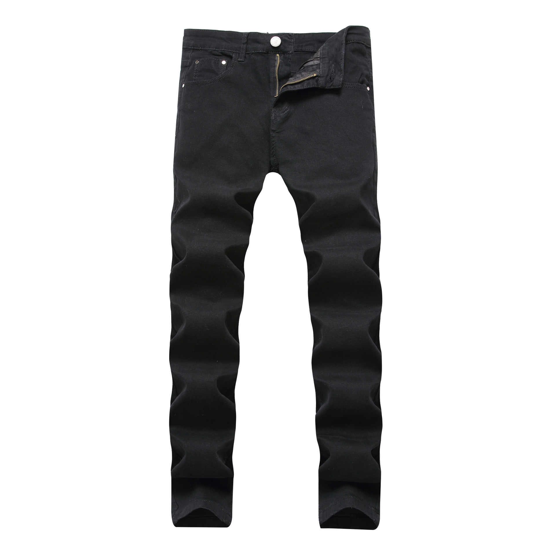 Для мужчин Байкер Джинсы для женщин Бизнес летние прямые Slim Fit синие джинсы стрейч джинсовые штаны Мотобрюки классический ковбой человек промывали Рваные джинсы