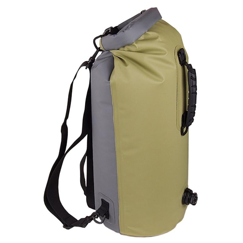 Camping hiking travel kits waterproof bag Outdoor Traveling Ultralight Rafting Bag Camping Dry Bags waterproof box 60L