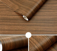 1.24m x 5m Wood Grain Textured Wrap Roll Sticker Decal Sheet Film Car Interior Decoration Hot Sale