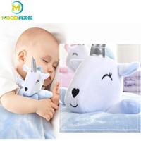 Baby Blanket Swaddle Wrap Unicorn Cartoon Newborn Swaddle Comfort The Baby To Sleep Super Soft Infant Baby Girl Boy Blanket MOOB