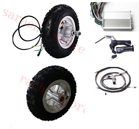 10  500W 24V electric scooter hub motor , wheelchair kit skateboard conversion