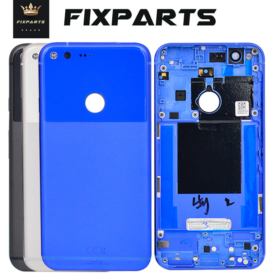 "For 5.5"" Google Pixel XL Battery Cover Door Back Housing Rear Case For HTC Replacement Parts For 5.0"" Google Pixel Back Cover"