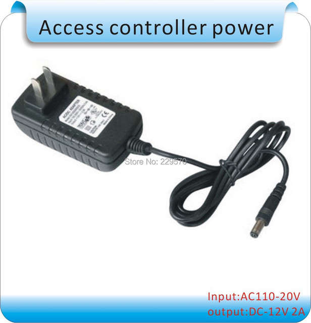 Free shipping DC-12V 2A  Access Control System  Power Supply / controller/ lock power supply system