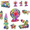 Мини Магнитный Конструктор 42/78/104 ШТ. Магнитный Строительный Блок Обучения Обучающие 3D DIY Строительство Детские Детские Игрушки подарок
