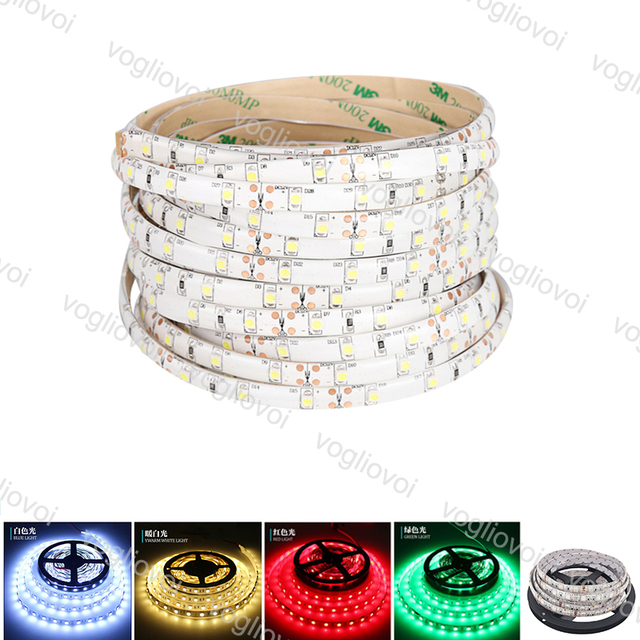 Vogliovoi Led Strip Light SMD 3014 DC12V 300LED Round 2 wire Dimmable Flexible Ribbon Waterproof  LED Lights DHL