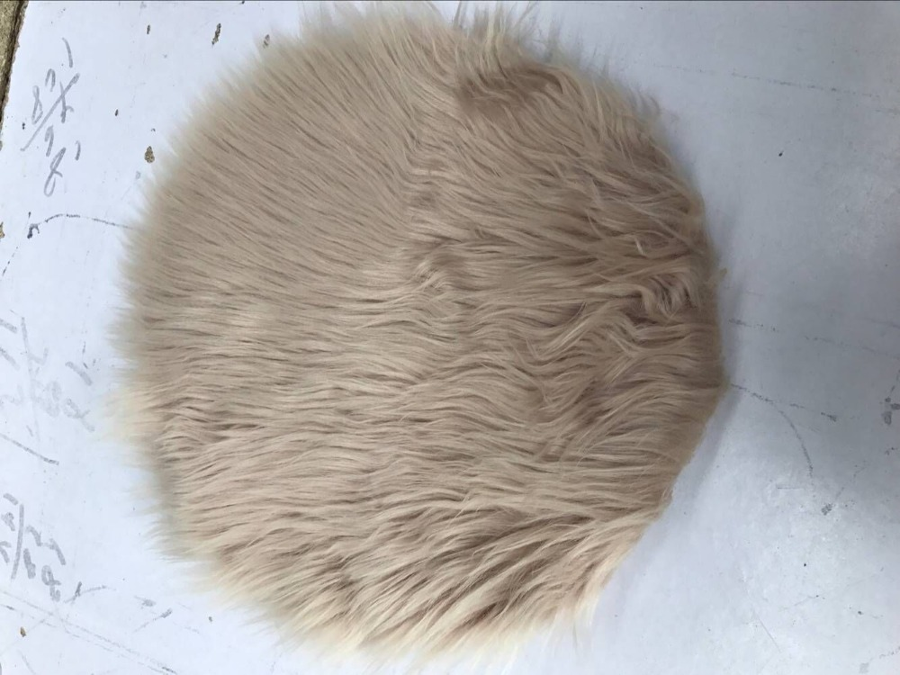 Soft Bedroom Felpudo Round Flooring Doormat Home Decor Artifical Non-slip Bedroom Rugs for Home Living Room Tapete Peludo