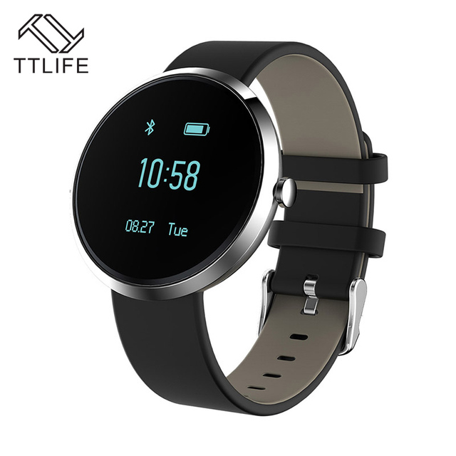 TTLIFE Brand Fashion Smart Bracelets V06 Blood Pressure Heart Rate Monitor Sport Activity Watch Clock Life Waterproof Pk v8 gt08