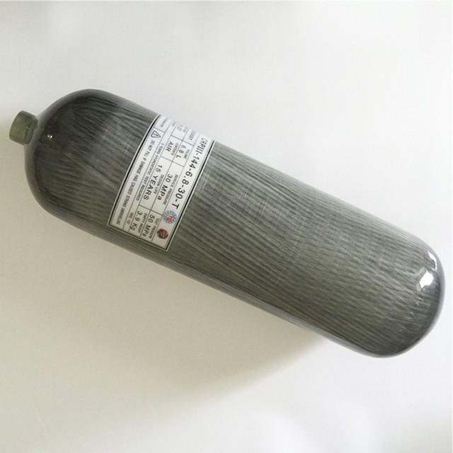 4500Psi 6.8L Compuesto de Carbono Cilindro Venta Caliente/PCP Fuerza Aérea Condor Paintball Tanque Sin Válvula