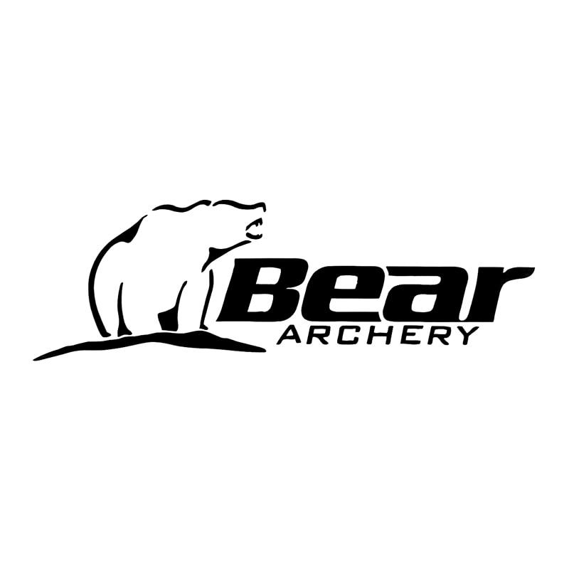16.6cm*5.3cm Bear Archery Fashion Car Styling Decor Car