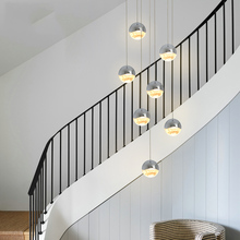 цены Art Deco Modern Pendant Ceiling Lamps Loft LED Pendant Lights Lighting Living Room stair Hotel Dining Room Hanging Light Lamp