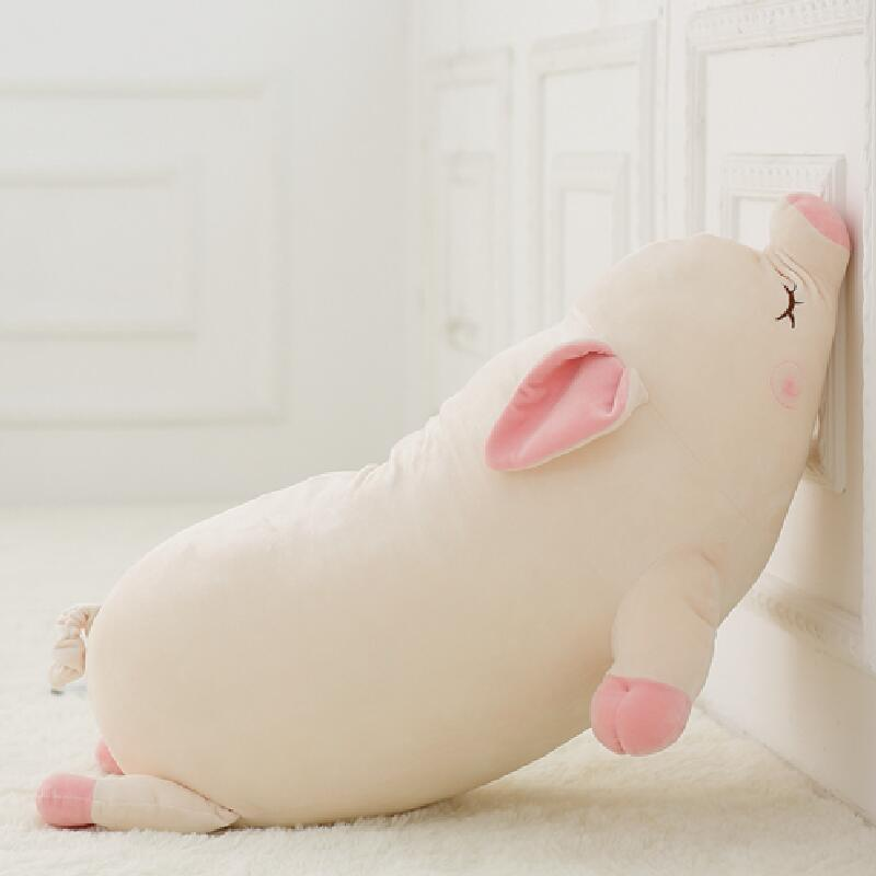 Cute Soft Down Cotton Pig Plush Doll Stuffed Pink Pig Doll Baby Software Pillow Gift For Girl