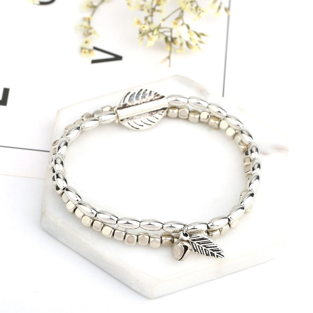 bracelet femme pas cher plume