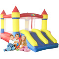Factory Direct Inflatable bouncer jumping slide mini bouncy castle combo for kids
